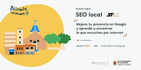 Charla SEO Local Mejora tu presencia en Google VILLAFRANQUEZA entradas