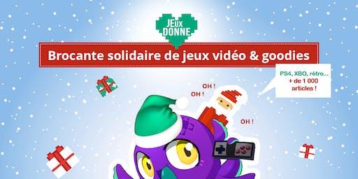 Brocante Solidaire Jeux Vidéo : un jeu contre un don pour le Secours Populaire