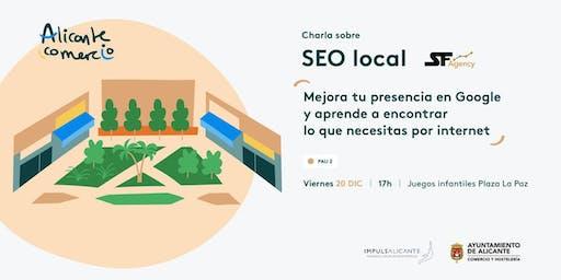 Charla SEO Local Mejora tu presencia en Google PAU 2