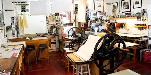 Spring Printmaking School