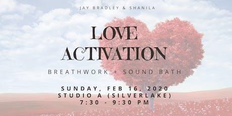 Love Activation Breathwork Sound Bath tickets