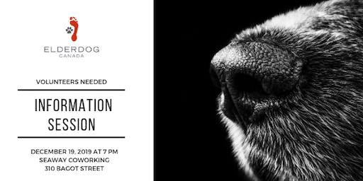 ElderDog Canada Information Session