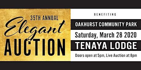 35th Annual Elegant Auction tickets
