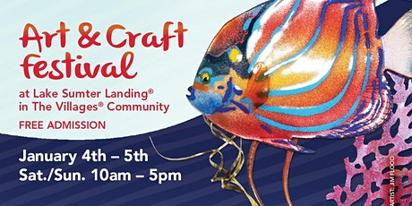 11th Annual Lake Sumter Art & Craft Festival tickets
