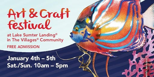 11th Annual Lake Sumter Art & Craft Festival