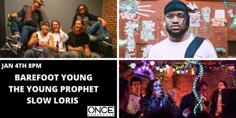Barefoot Young, The Young Prophet, and Slow Loris tickets