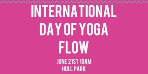 International Yoga Day Flow TC!