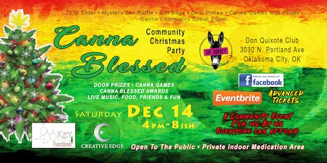 Canna Blessed Community Christmas Party VIP Event tickets