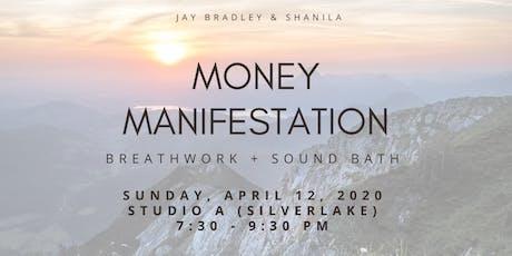 Money Manifestation Breathwork Sound Bath tickets