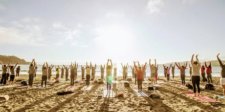 Saturday Groove Beach Yoga with Julie! tickets
