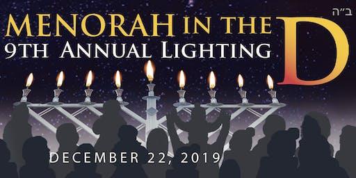 VIP Registration for Menorah in the D 2019