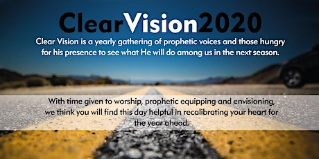 Clear Vision 2020 tickets