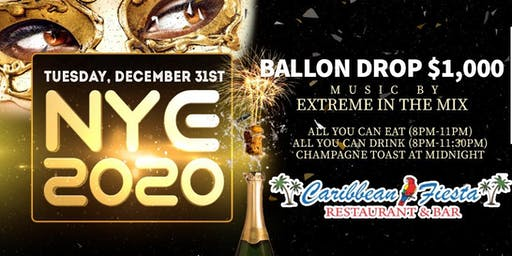 New Years Eve 2020 Bash!!!