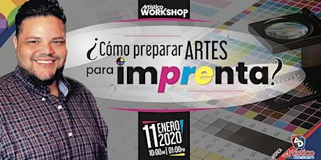 ¿Como preparar ARTES listos para Imprenta? entradas