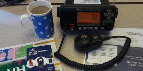 VHF Marine Radio Course - Short Range Certificate, Poole tickets