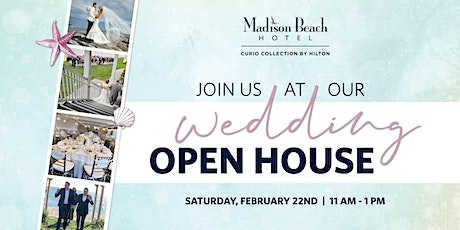 Wedding Open House at Madison Beach Hotel, Madison, CT tickets
