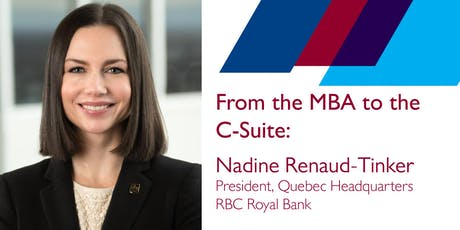 From the MBA to the C-Suite tickets