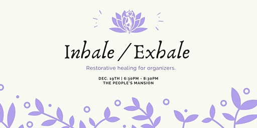 Inhale/Exhale: Yoga and Meditation with Replenish: The Spa Co-op