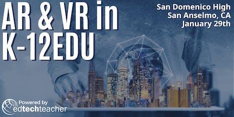 AR/VR (San Anselmo, California)- January 29,2020 tickets