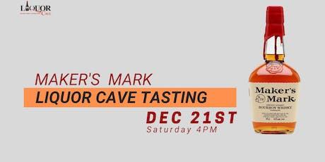Markers Mark Liquor Cave Tasting tickets