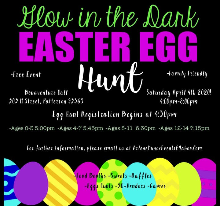 Easter Events Near Me 2020.Glow In The Dark Easter Event Tickets Sat Apr 4 2020 At 4