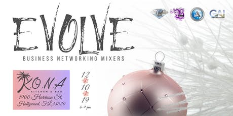 Evolve  Holiday Business Networking Mixer - Hollywood tickets