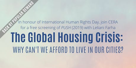The Global Housing Crisis: Why can't we afford to live in our cities? tickets