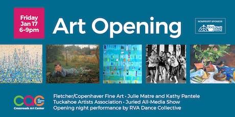 January 2020 Open House + Artist Reception tickets