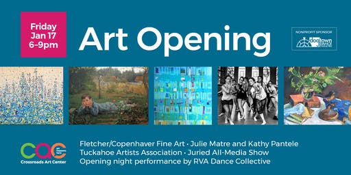 January 2020 Open House + Artist Reception