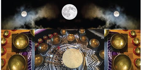 Full Moon Drum Journey & Singing Bowl Sound Bath with Mel Rio tickets