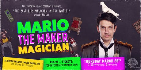 "Mario ""The Maker"" Magician Family Magic Show tickets"