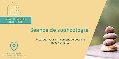 Séance de sophrologie: accéder au lâcher-prise avec Nathalie tickets