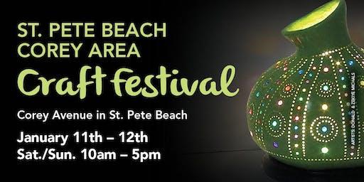 26th Annual St. Pete Beach Corey Area Craft Festival