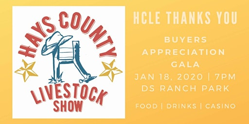 Hays County Livestock Show Buyers Gala