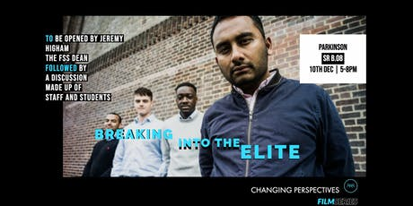 Film Series - Breaking into the Elite tickets