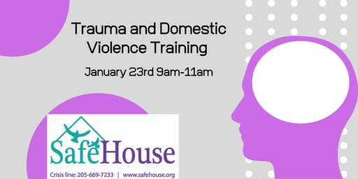 Trauma and Domestic Violence Training