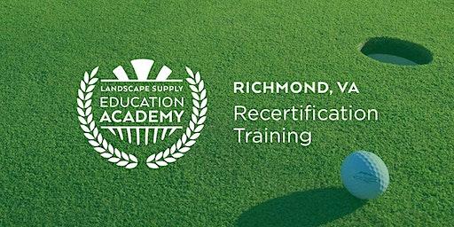 Landscape Supply Recertification Training - Richmond, VA