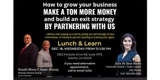 Lunch and Learn on December 18, 2019