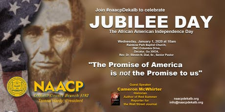 Jubilee Day - A celebration of African American Freedom tickets