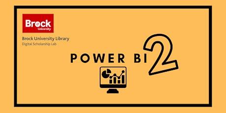 Power BI 2 tickets