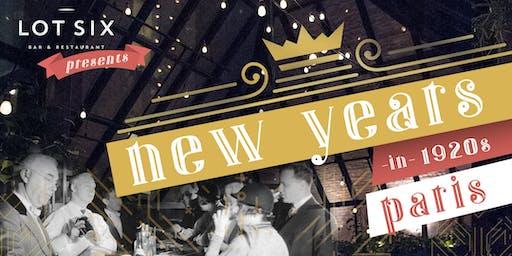 New Year's Eve: Paris, 1920