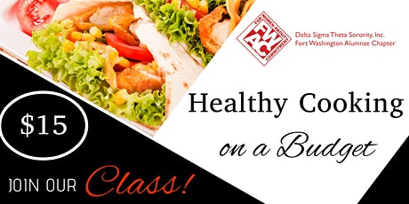 Healthy Cooking on a Budget 2.0 with FWAC DST tickets
