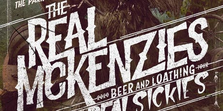 The Real McKenzies at the Park Theatre tickets