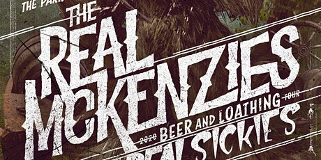 The Real McKenzies at the Park Theatre billets