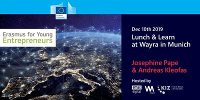 Lunch & Learn about EU's Erasmus for Young Entrepreneurs-Program