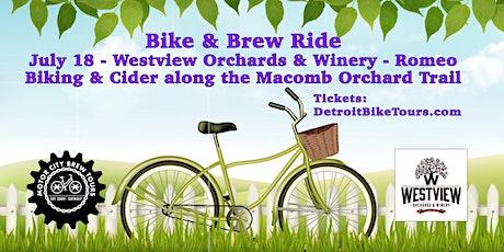 Bike & Brew Ride - Macomb Orchard Trail tickets