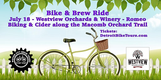 Bike & Brew Ride - Macomb Orchard Trail