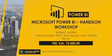 Data Analytics with Power BI Hands-on Workshop tickets