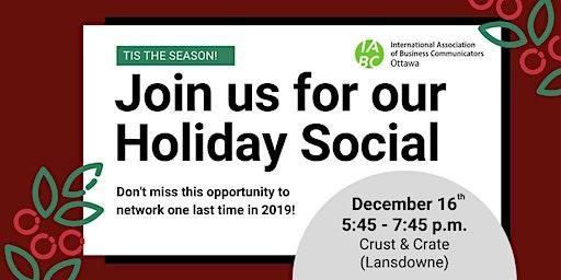 IABC Ottawa Holiday Social
