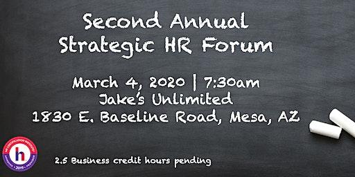 Second Annual Strategic HR Summit
